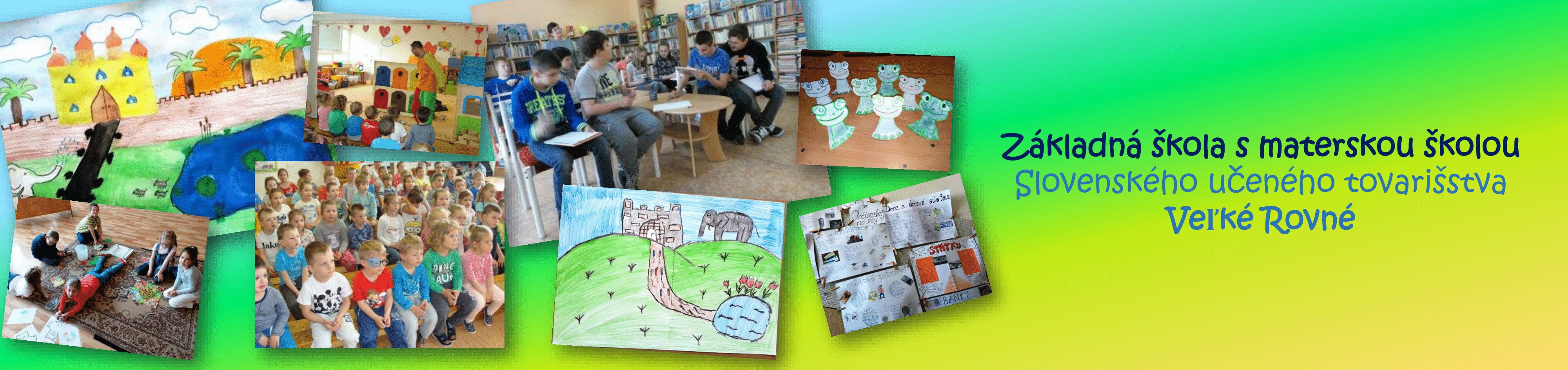 Základná škola s materskou školou Slovenského učeného tovarišstva Veľké Rovné